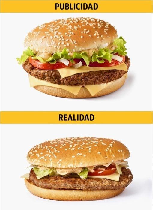PUBLICIDAD/REALIDAD, una Big N' Tasty de Mc Donald's