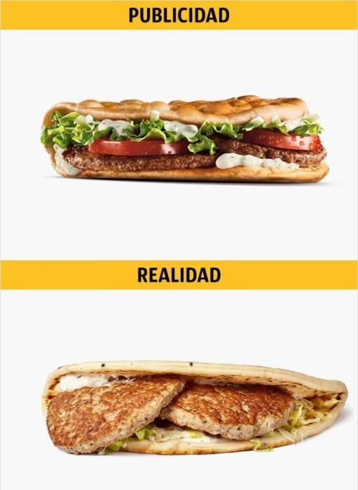 PUBLICIDAD/REALIDAD, una Greek Mac de MC DONALD'S