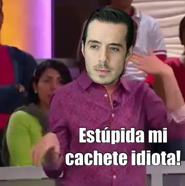 Memes Pepe Madero #LadyPanda con el meme estúpida mi cachete idiota