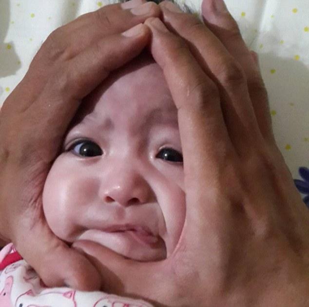 carita de bebe bola de arroz