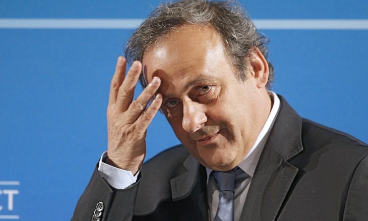 MICHEL PLATINI EX PRESIDENTE DE LA UEFA