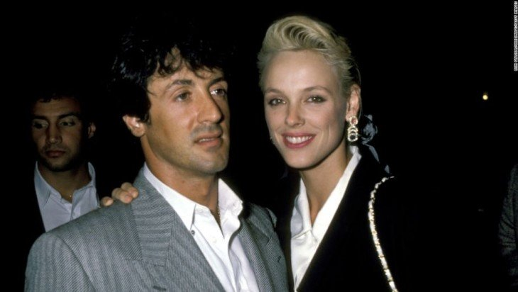 Las parejas disparejas de Silvester Stallone