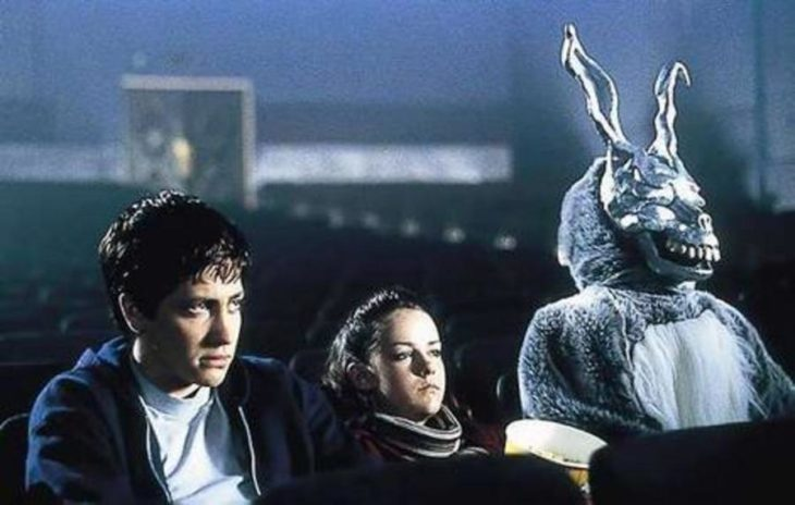 escena de la película Donnie Darko de Richard Kelly