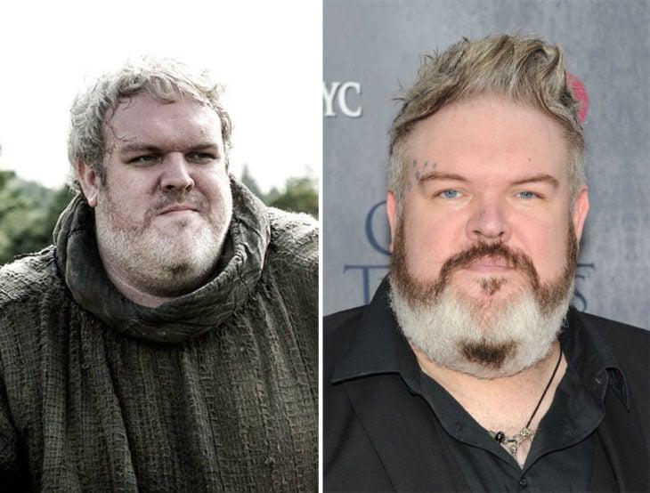 actor y DJ Kristian Nairn que interpreta a Hodor en Game of Thrones