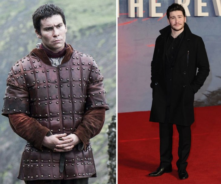 Daniel Portman en la vida real y en Game of Thrones