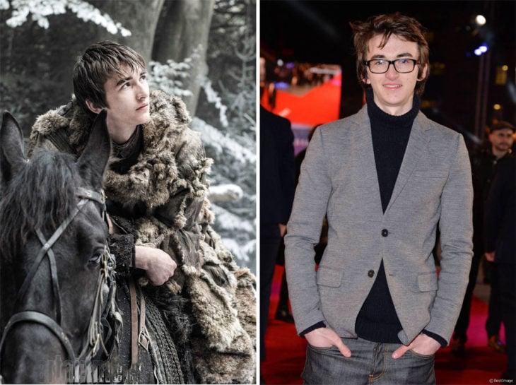 Isaac Hempstead Wright actor que interpreta a Bran Stark en Game of Thrones