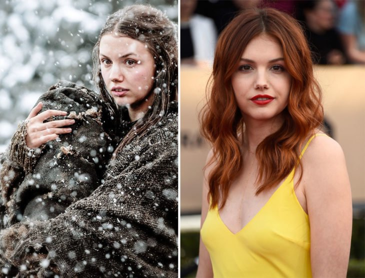 Hannah Murray actriz que interpreta a Gilly