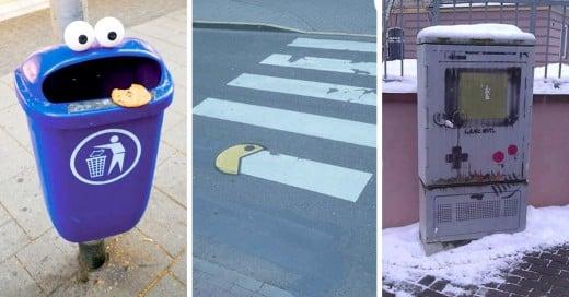 Geniales actos de vandalismo