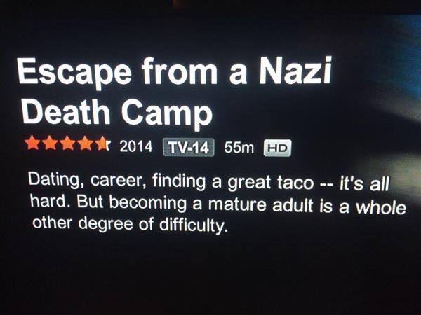 NETFLIX EN EL CAMPO NAZI