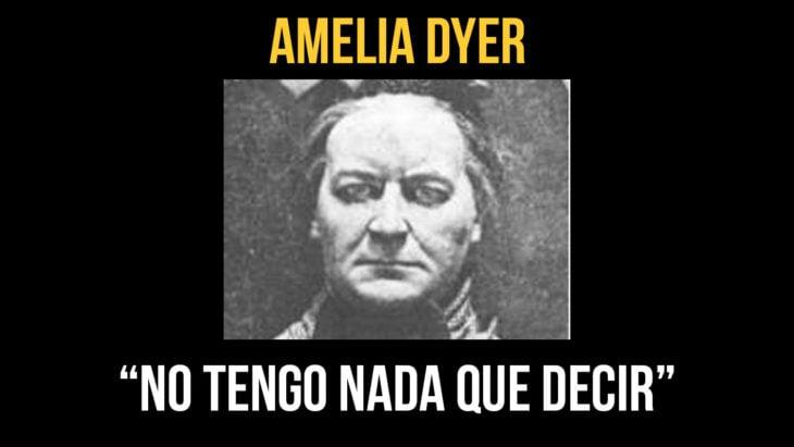 Amelia Dyer ejecutada a la edad de 58 años, el 10 de junio de 1896