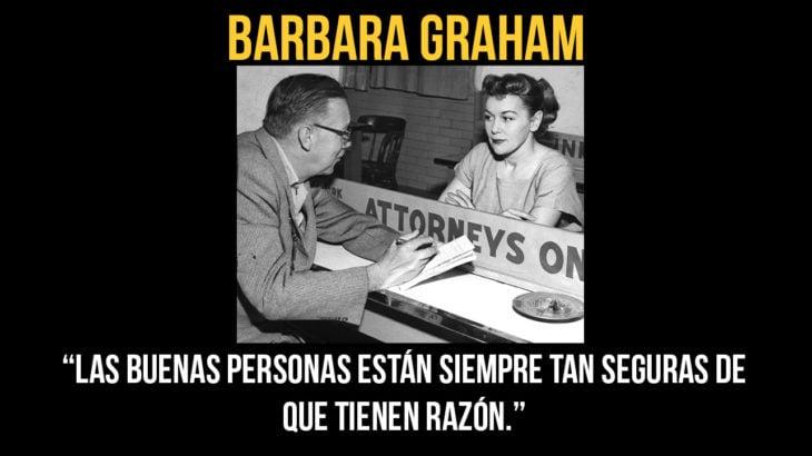 Barbara Graham murió ejecutada el 3 de junio de 1955 en la cámara de gas