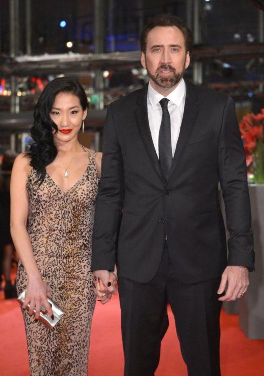 Alice Kim y Nicolas Cage llevan más de 11 años juntos