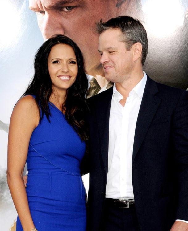 Luciana Barroso y Matt Damon se casaron en 2005