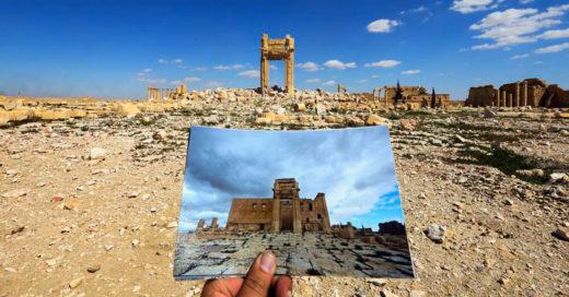 Palmira: Antes y después de ISIS, la devastadora destrucción de la historia Siria