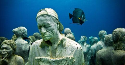 Obras de arte que solo podrás ver bajo el agua