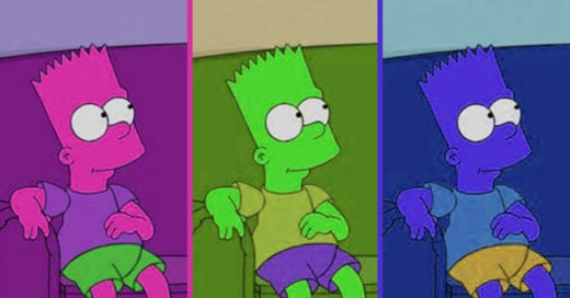 Test ¿de que color son los simpsons?
