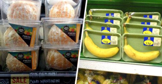 innecesarios empaques para fruta