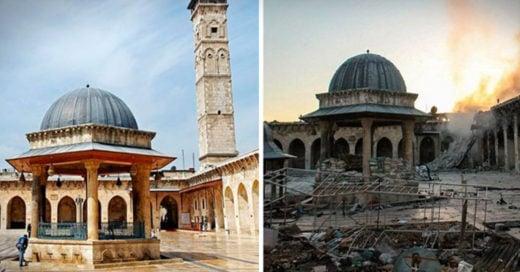 Homs, Siria desde un DRON: 5 años después de haber iniciado la guerra