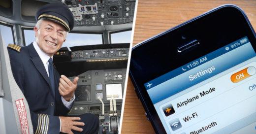 que pasa cuando ponemos nuestro móvil en modo avión