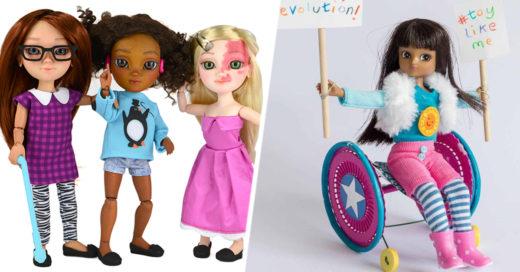 Muñecas con discapacidad toy like me
