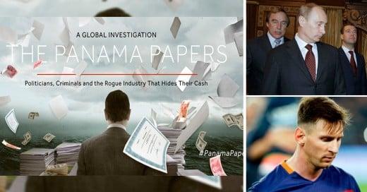 PanamaPapers: Como los ricos y famosos esconden su dinero en el extranjero