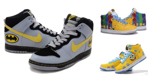 Tennis Nike estilo POP ART
