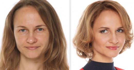 Estilista ruso hace cambios de look para demostrar que toda mujer es una reina