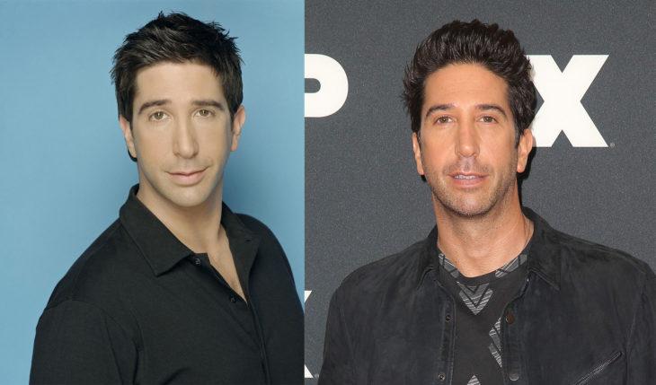 David Schwimmer en 1994 y en 2016