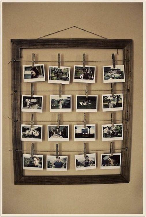 marco para colgar fotografías
