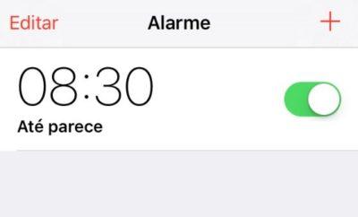 alarma iphone 8:30 am