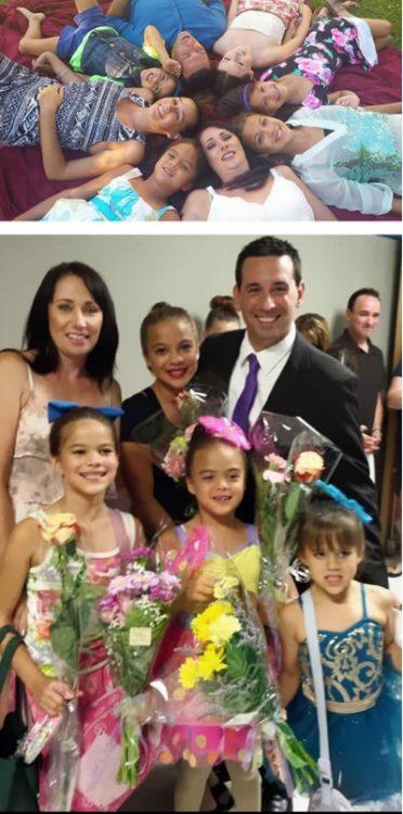 mamá adoptó a 4 hijos de su mejor amiga que murió de cáncer