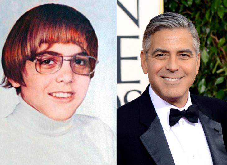 gerge-cloooney antes y ahora