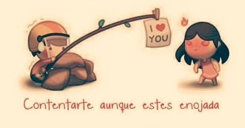 ilustración amor es contentarte