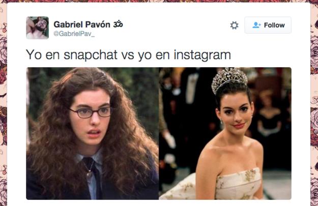 el diario de una princesa instagram y snapchat