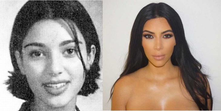 kim-kardashian antes y ahora