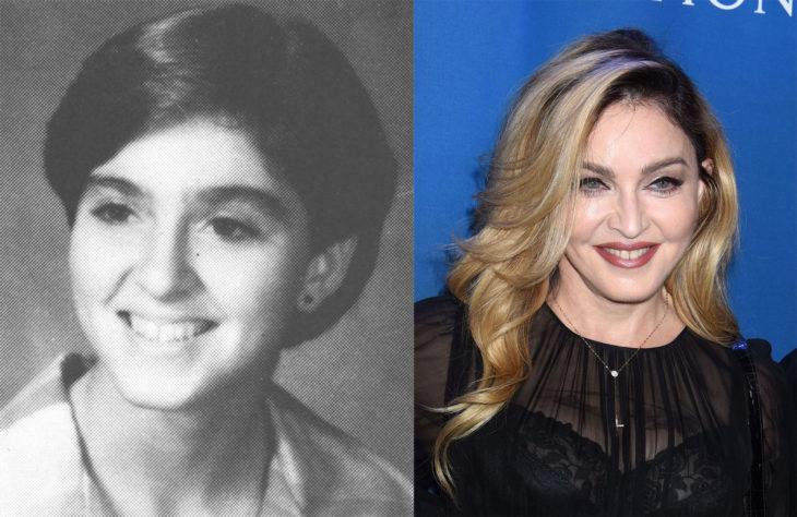 madonna antes y ahora