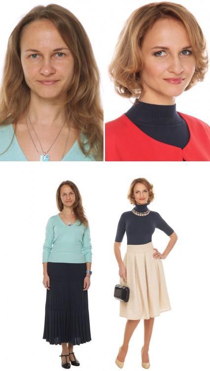 estilista ruso cambio de imagen antes y despues