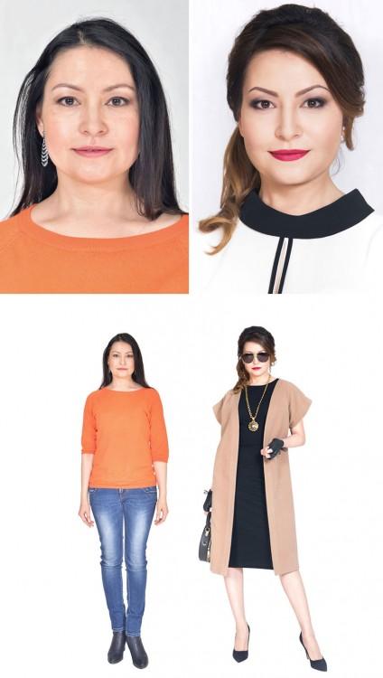 estilista ruso cambia imagen de mujeres