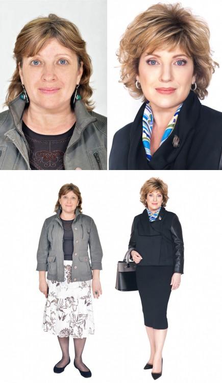 estilista ruso hace cambio drástico de imagen a mujeres