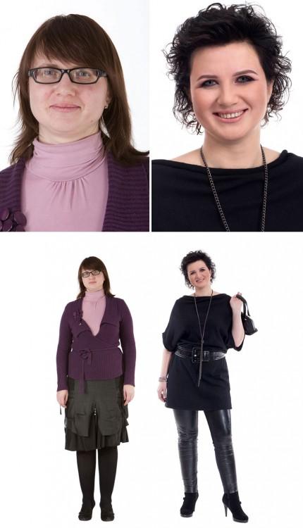 cambio de imagen según la personalidad de cada mujer estilista ruso