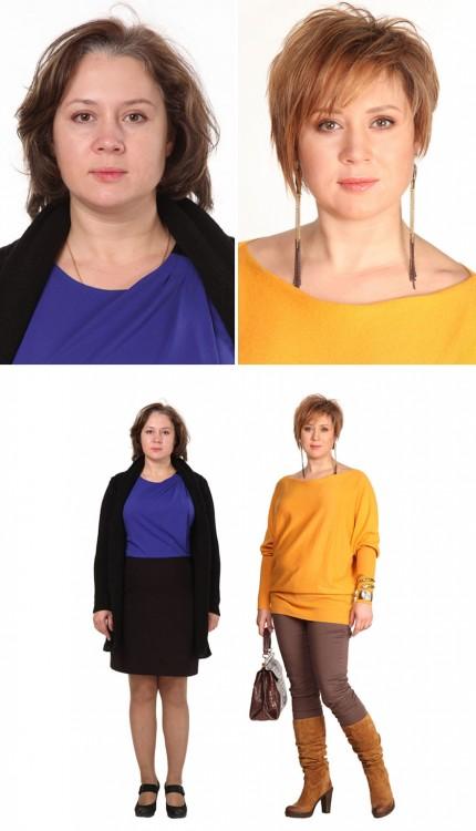 cambio de imagen estilista ruso