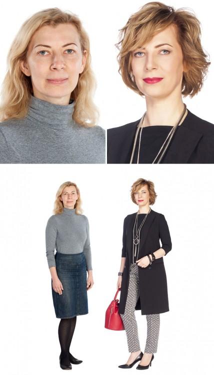 fotos antes y despuès estilista ruso