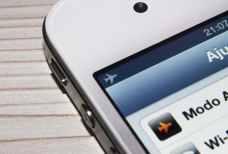 celular en modo avión