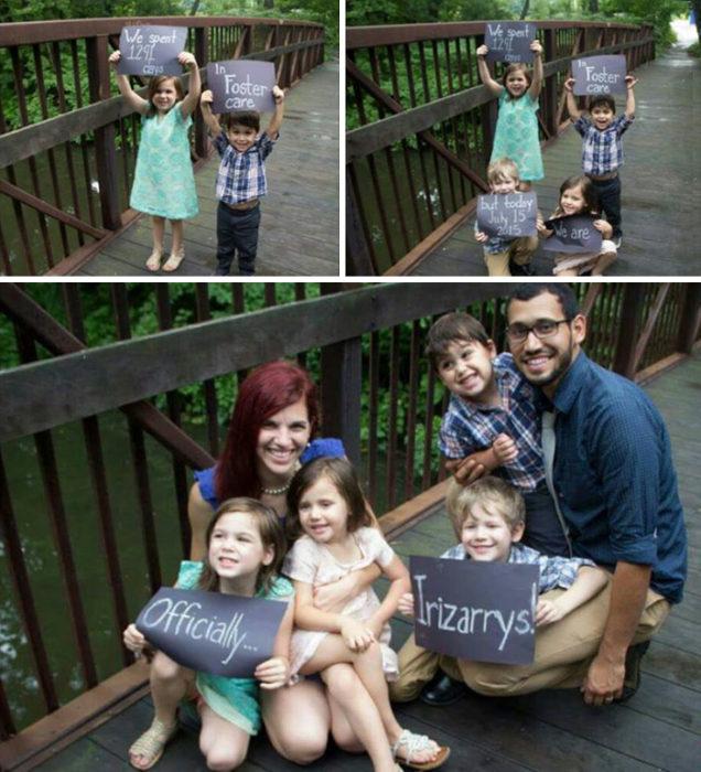 Familia Irizarrys, adoptó a niños