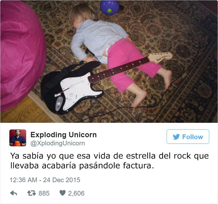 papa twitter estrella rock hija