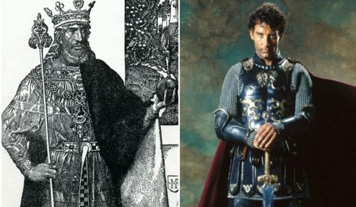 Personajes Históricos En La Vida Real. Rey Arturo interpretado por Clive Owen