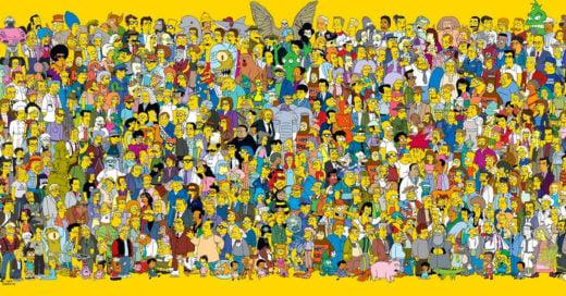 Test personajes de Los Simpsons
