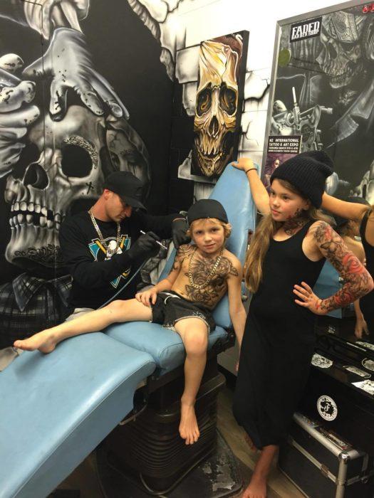 tatuajes niños