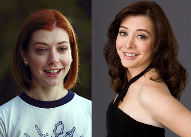 Alyson-Hannigan, interpretó a Michelle Flaherty