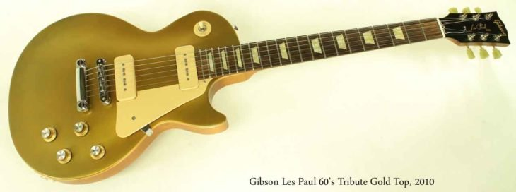 Guitarra Gibson Les Paul 1952 de la tienda Gold Top